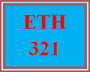 ETH 321 Week 1 Quiz 1 | eBooks | Education