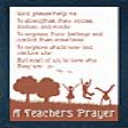A Teachers Prayer | Crafting | Cross-Stitch | Religious