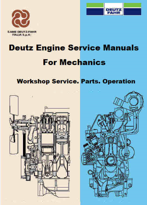 First Additional product image for - Deutz Agrofarm Agrotron Tractor Manuals For Mechanics