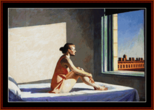Morning Sun - Edward Hopper cross stitch pattern by Cross Stitch Collectibles | Crafting | Cross-Stitch | Other