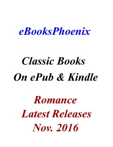 ebooksphoenix classic books romance nov. 2016