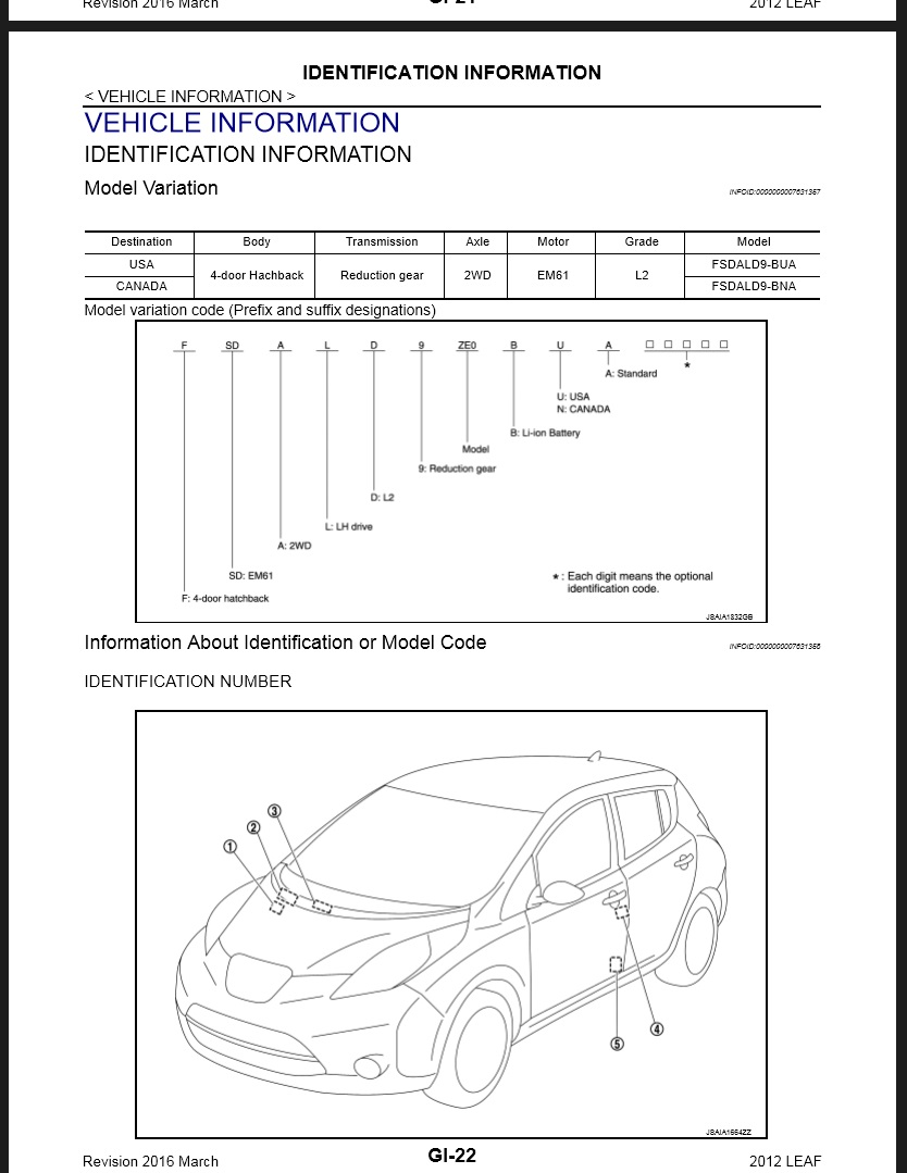 2012 Nissan Leaf Ze0 Service  U0026 Repair Manual  U0026 Wiring