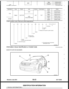 2017 Infiniti Q50 V37 Service & Repair Manual & Wiring diagram | eBooks | Technical