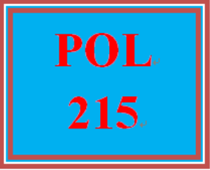 POL 215 Week 1 Foundations of the U.S. Federal Government Worksheet | eBooks | Education