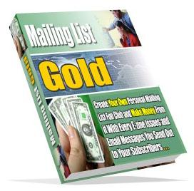 Mailing List Gold | eBooks | Business and Money