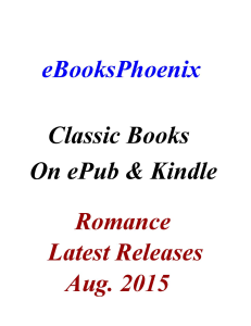 ebooksphoenix classic books romance aug 2015