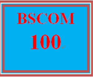 BSCOM 100 Week 3 Small Team Experiences Paper | eBooks | Education
