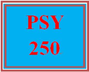 PSY 250 Week 3 Individual Personality Traits | eBooks | Education