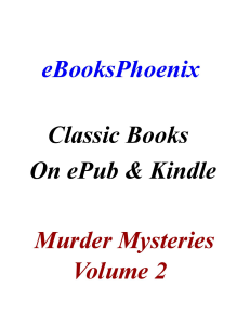 ebooksphoenix classic books murder mystery vol. 2