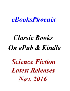 ebooksphoenix classic books science fiction nov. 2016