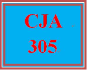 CJA 305 Week 4 Sentencing Proposal (Preparation) | eBooks | Education