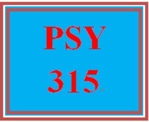 PSY 315 Week 1 Practice Worksheet | eBooks | Education