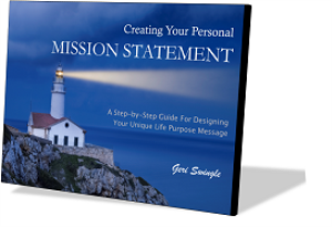 create your personal mission statement
