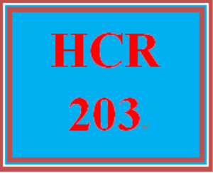 HCR 203 Week 3 RA/EOB Summary | eBooks | Education