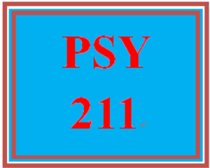 PSY 211 Entire Course | eBooks | Education