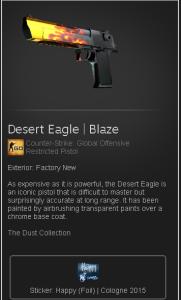 desert eagle | blaze