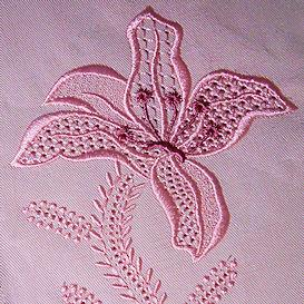 Wing Needle Lilly - DST | Crafting | Embroidery