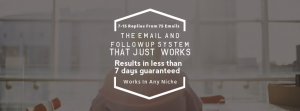 The Email & Follow Up System That Just Works! | eBooks | Business and Money