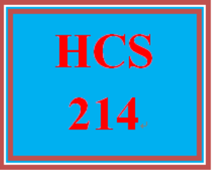 HCS 214 Week 1 Major Health Care Facilities | eBooks | Education