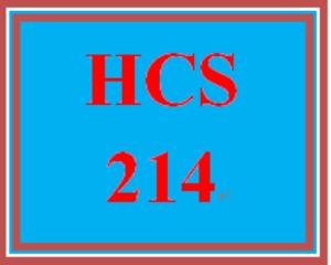 HCS 214 Week 5 Week Five Knowledge Check | eBooks | Education