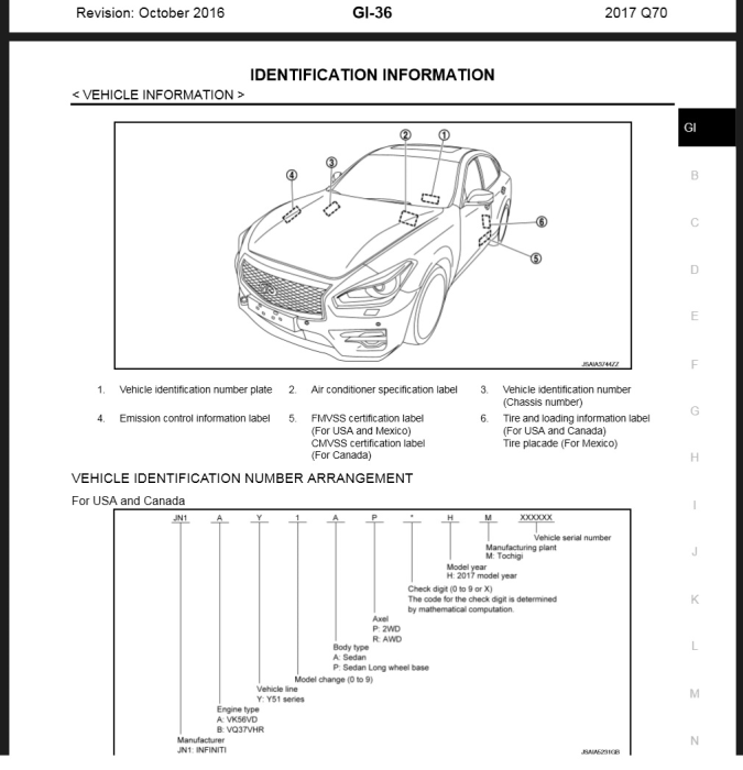 First Additional product image for - Infiniti Q70 2017 Y51 Service & Repair Manual & Wiring diagrams