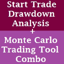 Trading Tool Combo: Monte Carlo AND Start Trade Drawdown Analysis Trading Tools | Software | Add-Ons and Plug-ins