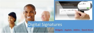 digital signature widget