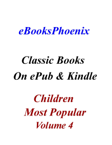 eBooksPhoenix Classic Books Children Vol 4 | eBooks | Children's eBooks