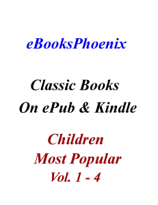 eBooksPhoenix Classic Books Children Vol 1-4 | eBooks | Children's eBooks