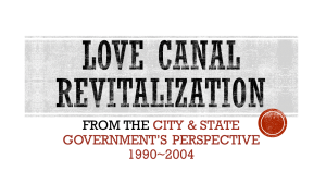 love canal revitalization