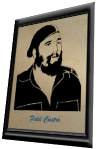 fidel castro scroll saw pattern