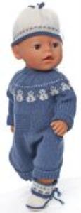 DollKnittingPatterns 0160D HEDDA - Anzug, Mütze und Socken / Schuhe-(Deutsch) | Crafting | Knitting | Other