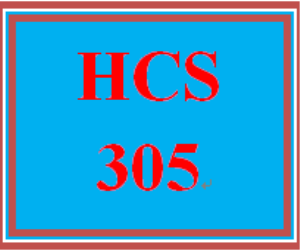 HCS 305 Week 3 Student Learning Outcomes | eBooks | Education