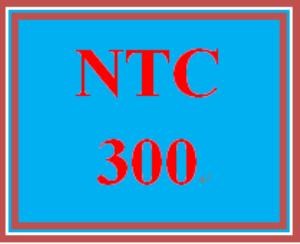 NTC 300 Week 2 Learning Team: Cloud Implementation Proposal Project Plan | eBooks | Education