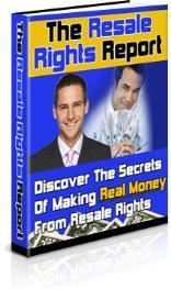 The Resale Rights Report + bonus (7 days to massive traffic) | eBooks | Business and Money