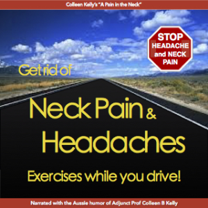 get rid of head and neck pain: exercises while driving