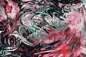 """creatures"" digital abstract art painting wallpaper"
