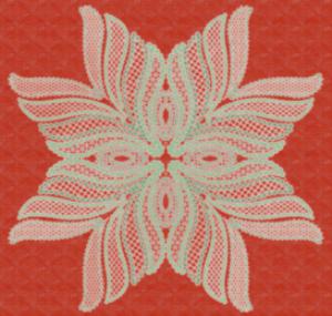 wing needle flourish - pes