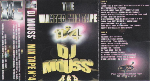 First Additional product image for - Dj Mouss - Wanted Mix Tape 4 (1997)