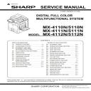 Sharp MX 4110N 5110N Full Service Manual Download | eBooks | Technical