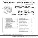 Sharp MX 4111N 5111N Full Service Manual Download | eBooks | Technical