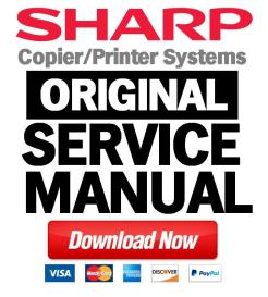 sharp mx m160 m200  full service manual download
