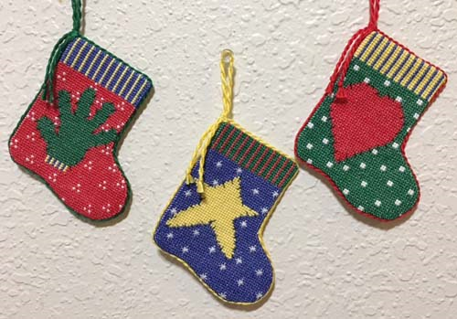 First Additional product image for - Folkart Stocking Ornaments