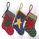 Folkart Stocking Ornaments | Crafting | Cross-Stitch | Other