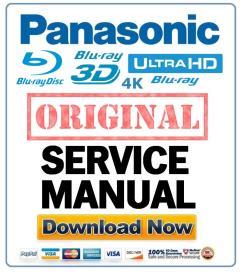 Panasonic DMP-BDT220 BDT220P BDT220PC Blu Ray player original Service Manual | eBooks | Technical
