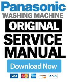 Panasonic NR-BG32FW3 washing machine service manual | eBooks | Technical