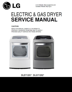 lg dley1201v dlgy1202v dlgy1202w service manual and repair guide