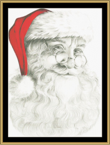 Santa Baby  Cross Stitch Pattern By Mystic Stitch | Crafting | Cross-Stitch | Wall Hangings
