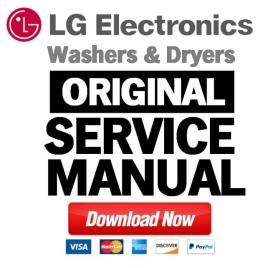 LG DLGX8001V DLGX8001W dryer service manual and repair guide | eBooks | Technical