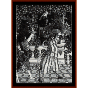 The Fruit Bearers - Beardsley cross stitch pattern by Cross Stitch Collectibles | Crafting | Cross-Stitch | Other